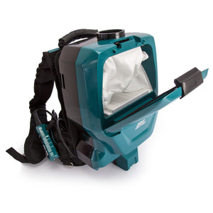 DVC260 Makita Cordless Backpack Vacuum Cleaner 18V