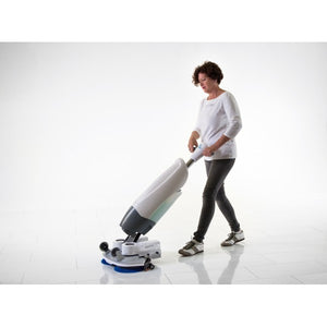 The iMop XL - Battery Scrubber Dryer
