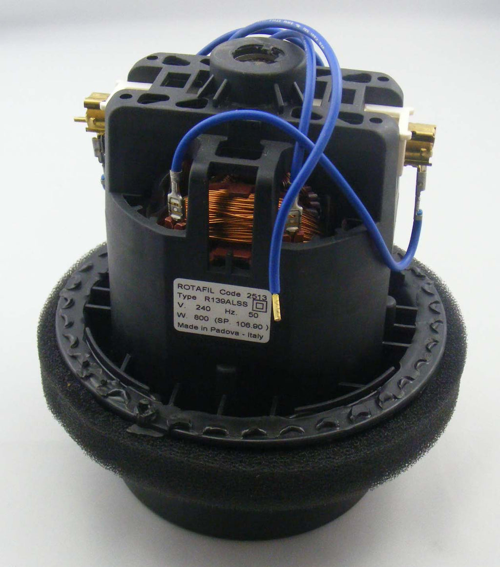 R139ALSS Rotafil motor with gaskets for LW30 & Taski Swingo 150