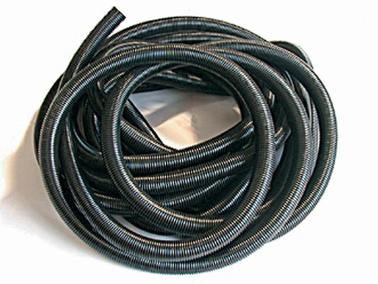 Hse66 38mm x 20m black crushproof hose only