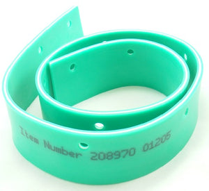 650mm Numatic Twintec Green Rear Poly Blade