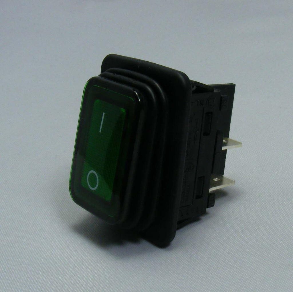 Numatic 270146 green illuminated switch