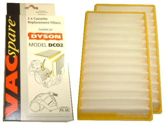 Fil66 dyson dc02 pattern washable h-level cartridge filters
