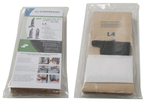 Lindhaus L4 paper bags and filters - ch pro & rx - 030610019