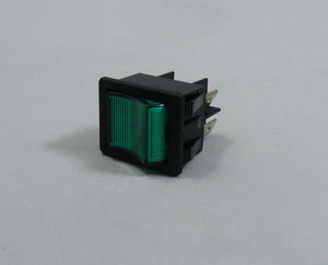 Numatic 220809 rocker switch green