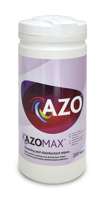 Azomax Cleaning & Disinfectant wipes