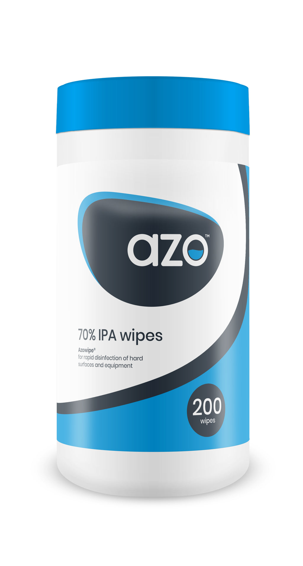 Azowipe® 70% IPA Disinfectant Wipes - 250 wipes
