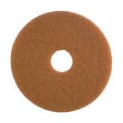 contico 355mm tan polishing/buffing pads