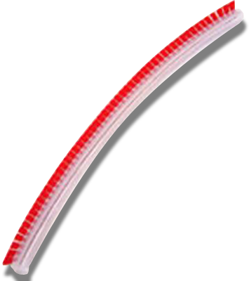 Genuine Sebo BS46 / 450 - 460 Hard Bristle Brush Strip - Red