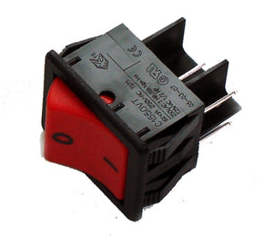 Numatic 220552 on/off rocker switch red