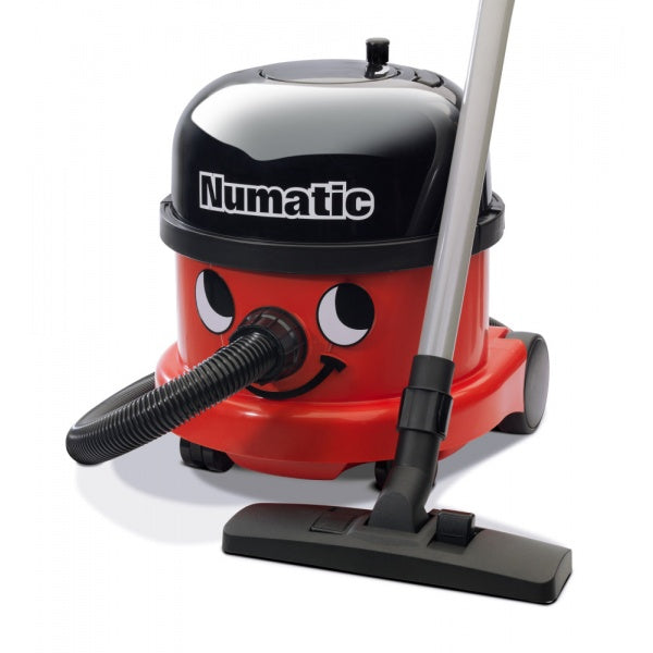 Numatic Nrv240-11 commerial vacuum cleaner red with cable rewind