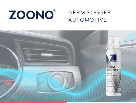 Zoono germ fogger automotive