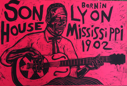 Son House Woodcut