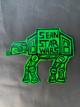 Load image into Gallery viewer, AT-AT Glitter Sticker