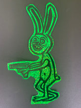 Load image into Gallery viewer, Gunny Bunny Glitter Sticker