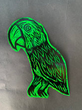 Load image into Gallery viewer, Parrot Glitter Sticker