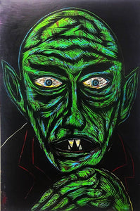 Nosferatu Color Woodcut