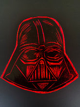 Load image into Gallery viewer, Vader Glitter Sticker