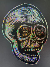 Load image into Gallery viewer, Skull Glitter Sticker