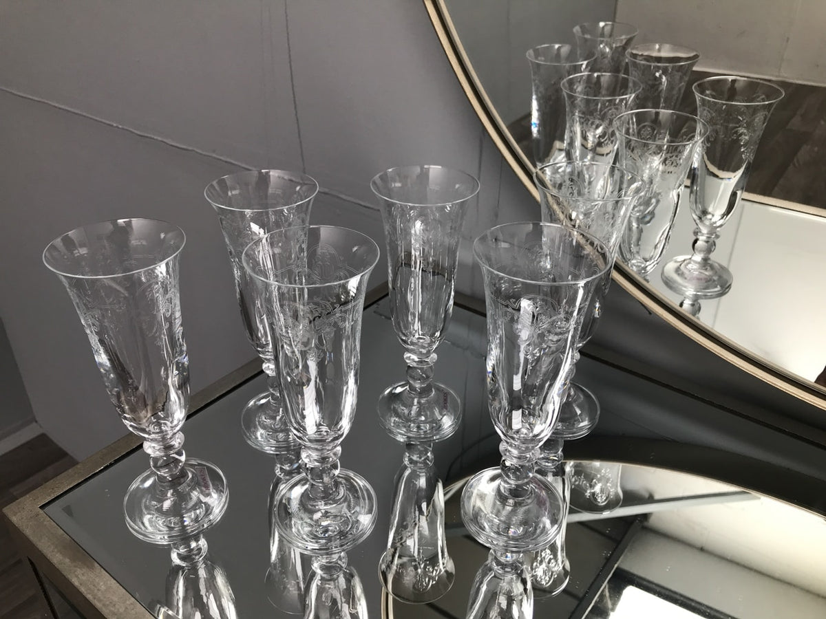Piano Wine Flutes - Set of 6