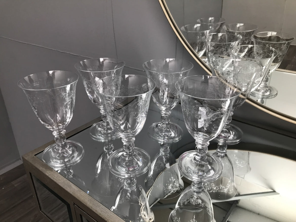 Piano Wine Glasses - Set of 6
