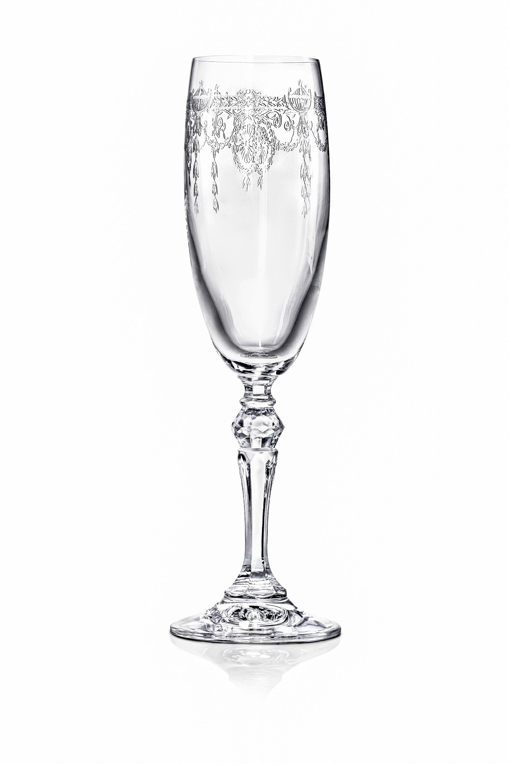Catherine Champagne Flutes - Set of 6