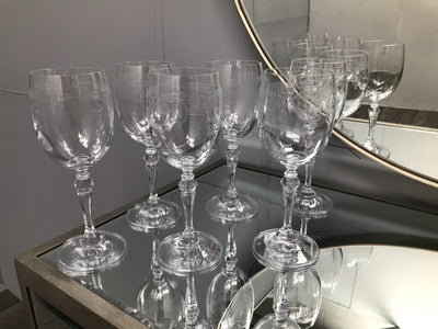Catherine White Wine Glasses - Set of 6