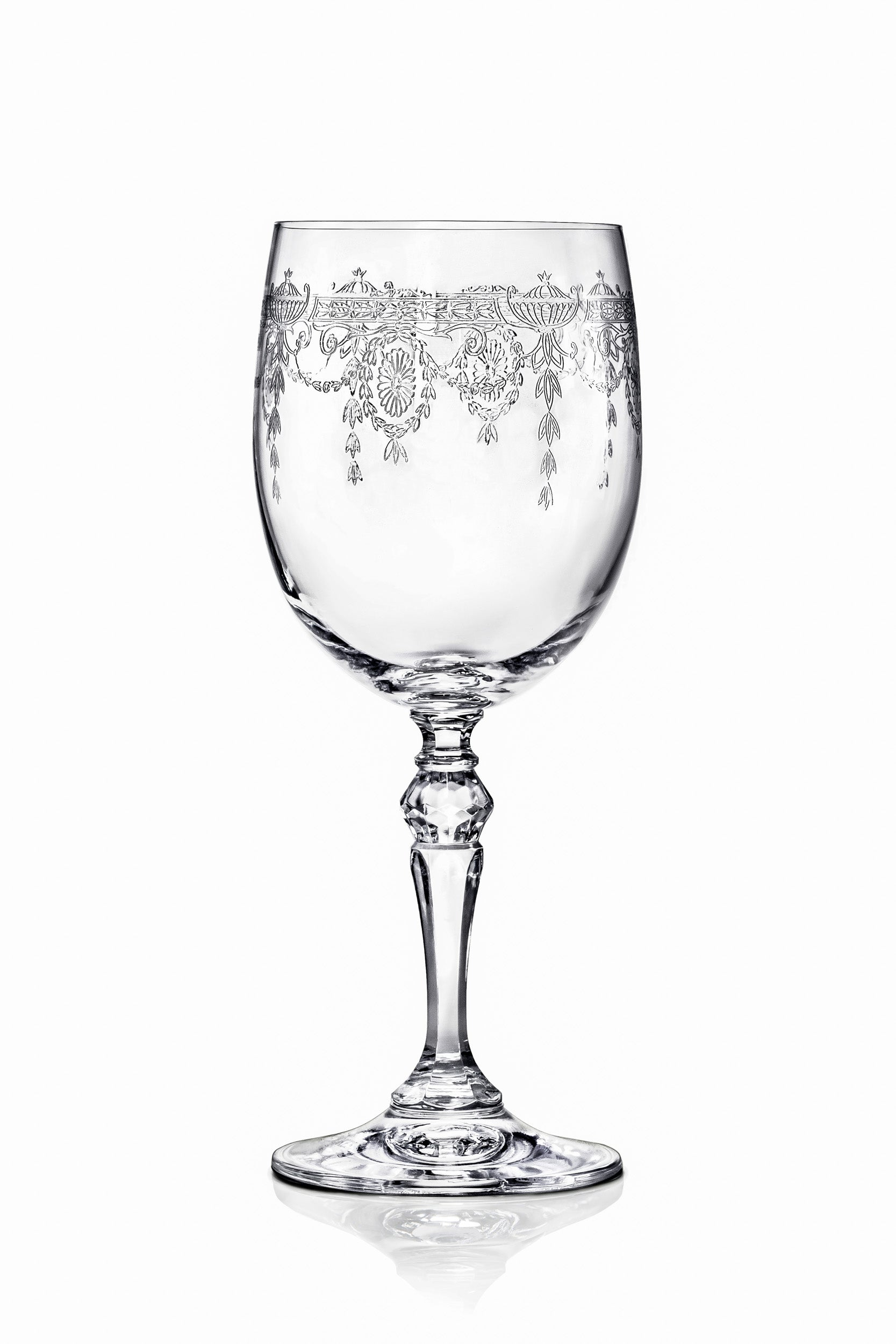 Catherine Red Wine Glasses - Set of 6