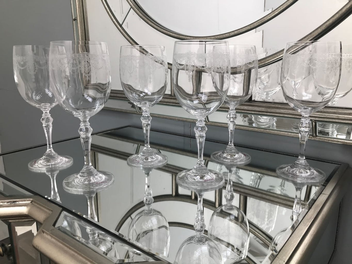 Catherine Wine Glasses - Set of 6
