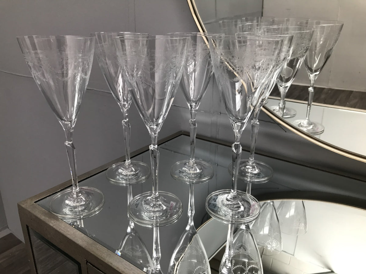 First Lady Wine Glasses - Set of 6