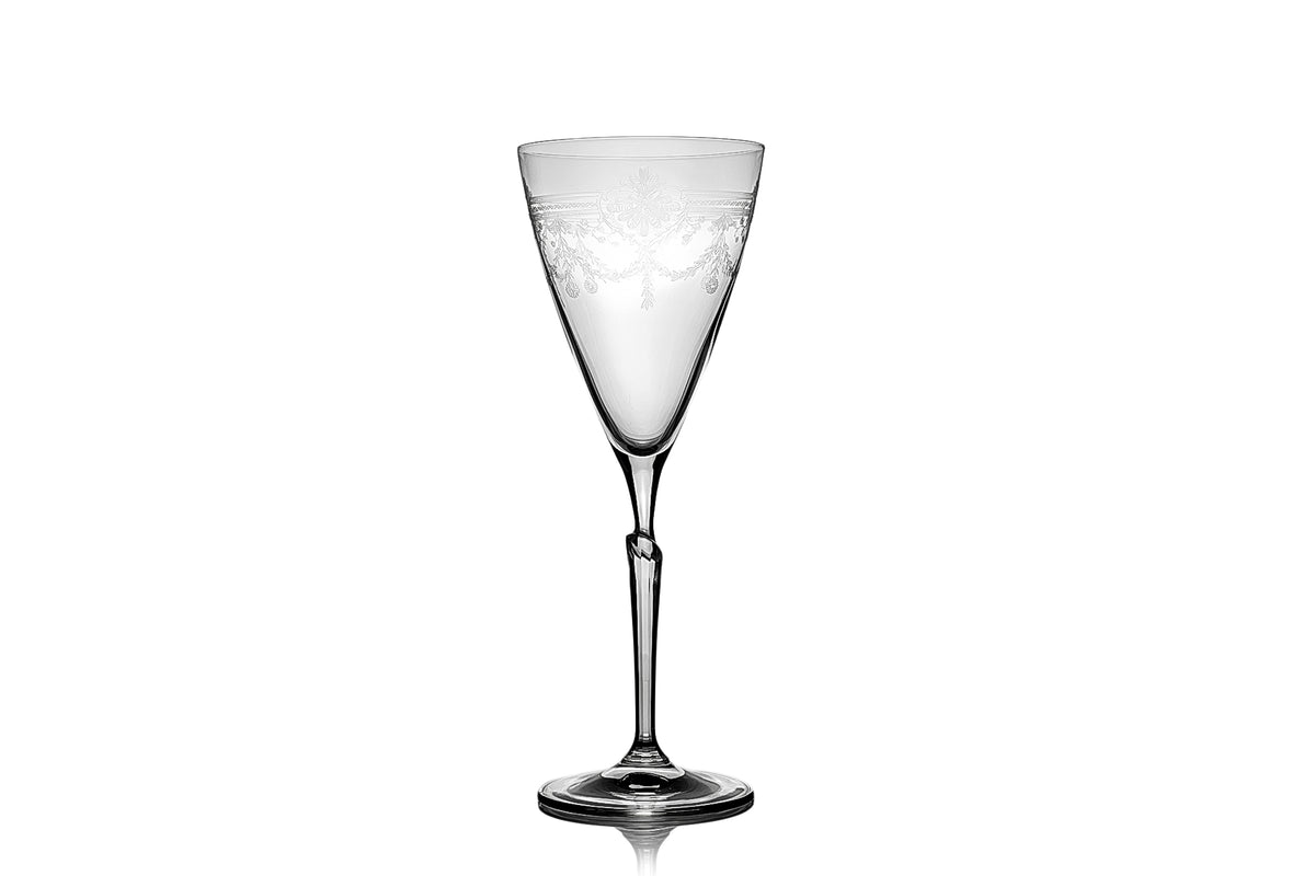 First Lady Wine Glasses - One Glass from a Set of 6