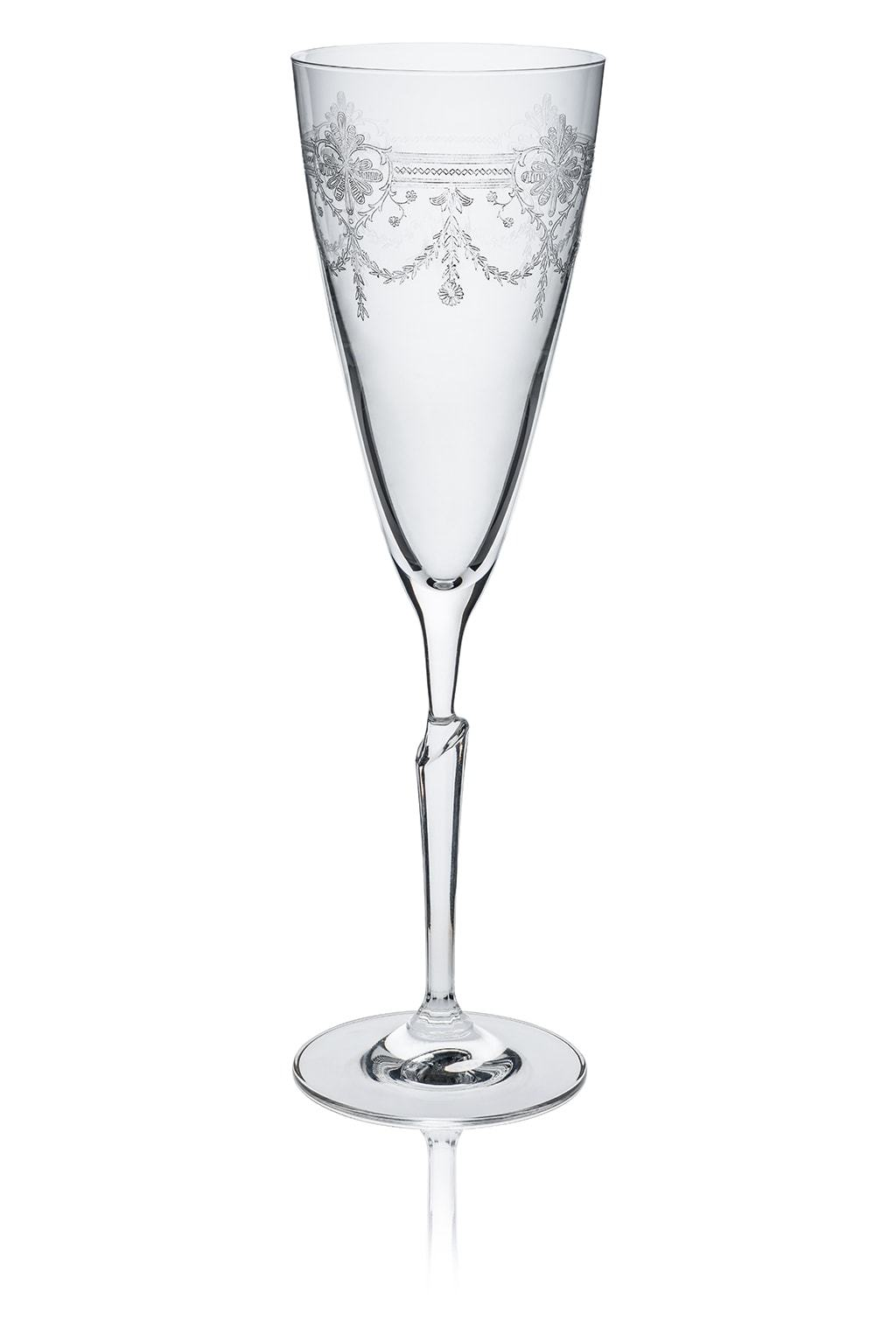 First Lady Champagne Flute - part of set of 6 drinking glasses