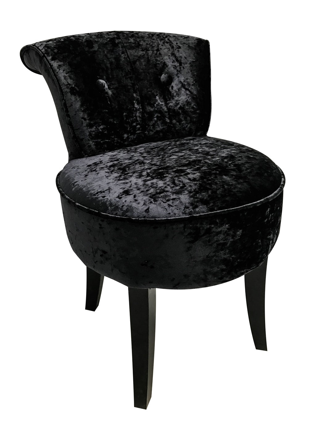 Small Occasional Black Chair