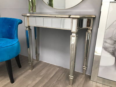Slim Mirrored Console Table - Modern-Luxury - Marbella Collection