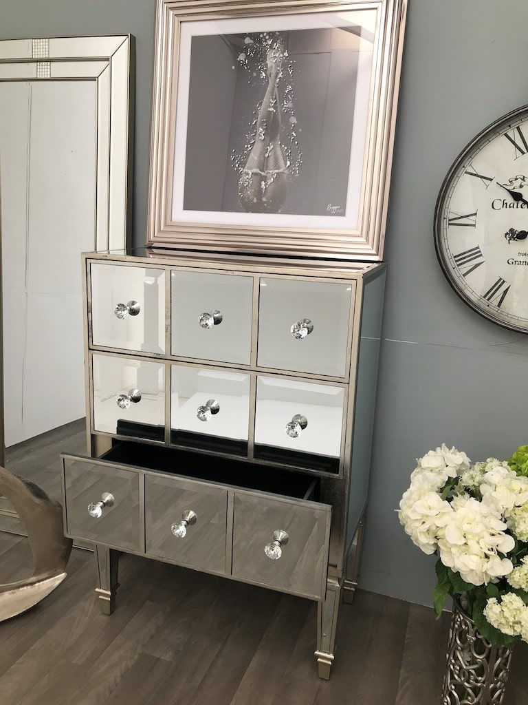 Hollywood Chest of 3 Drawers