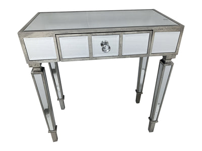 Mirrored Console Table with single drawer