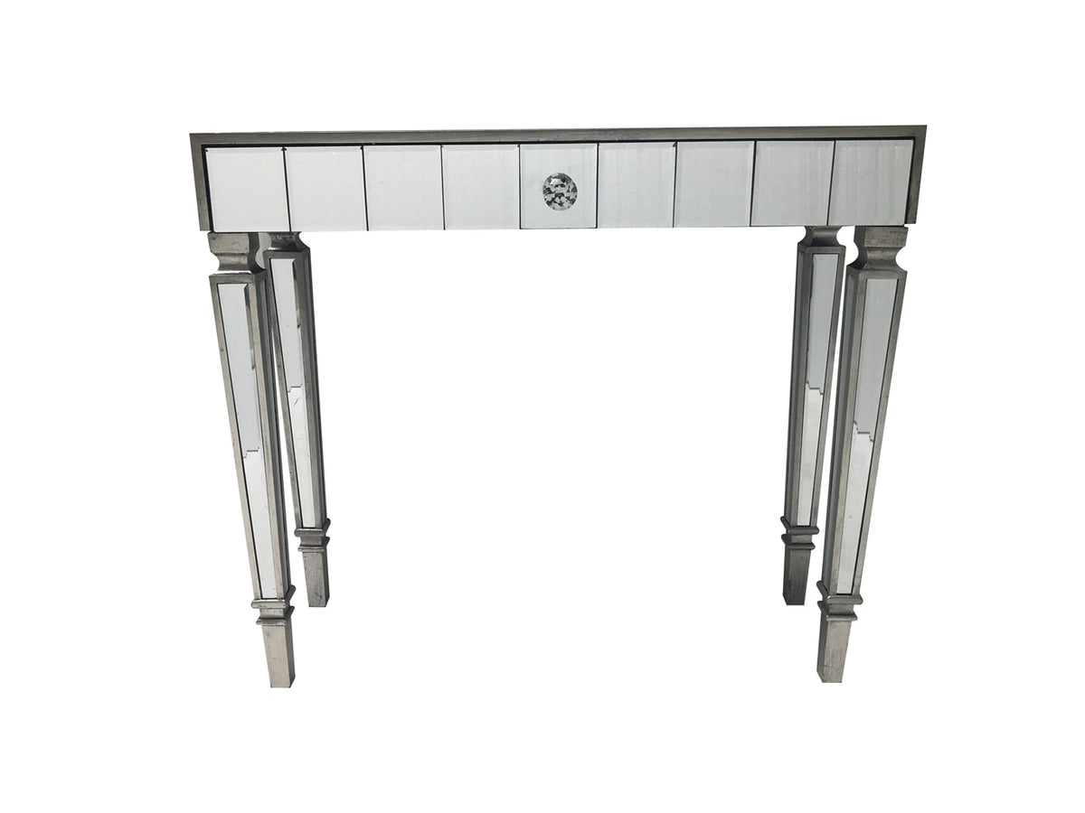Mirrored Console Table with one drawer