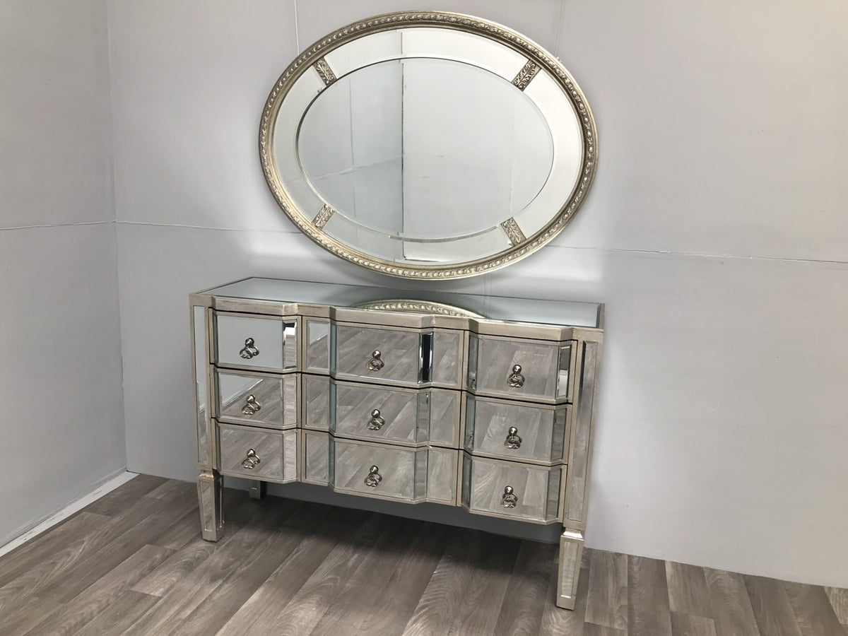 Mirrored Chest of 9 Drawers » Charleston