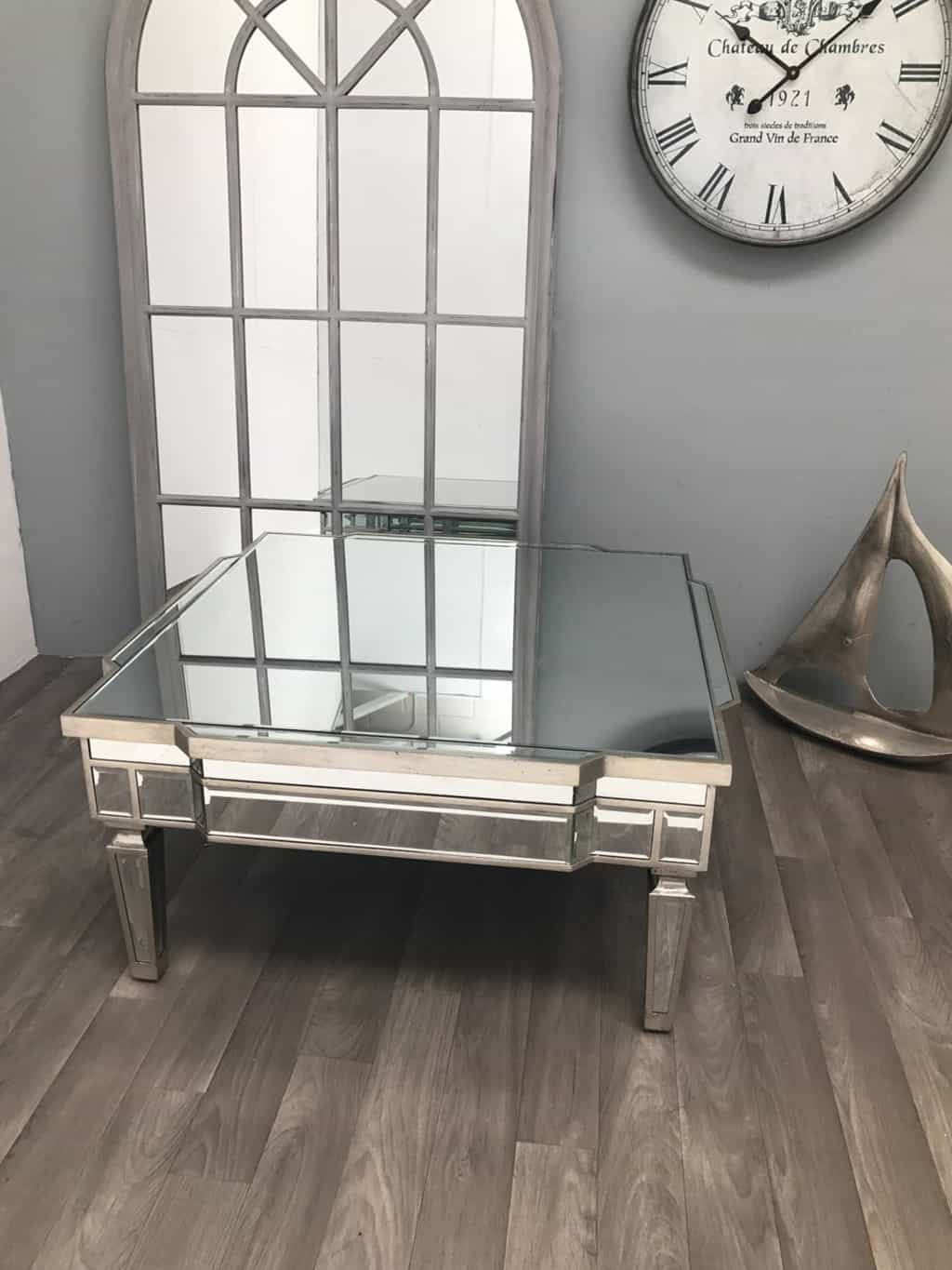 Square Mirrored Coffee Table from Charleston Range