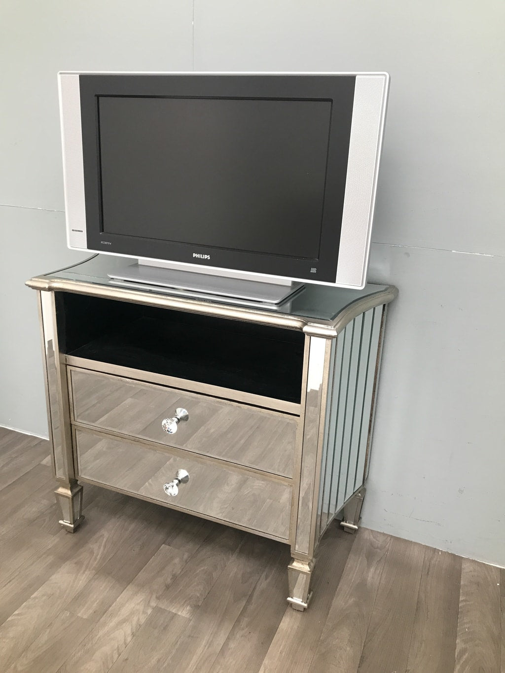 Marbella Media Unit with 2 Drawers