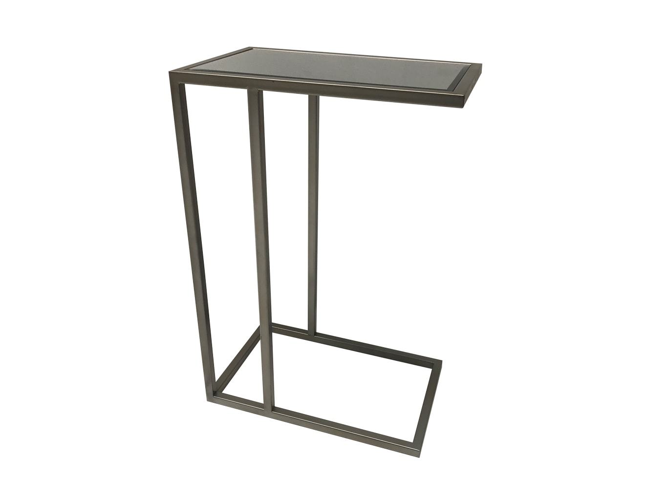 Sofa Table in Silver Colour Finish