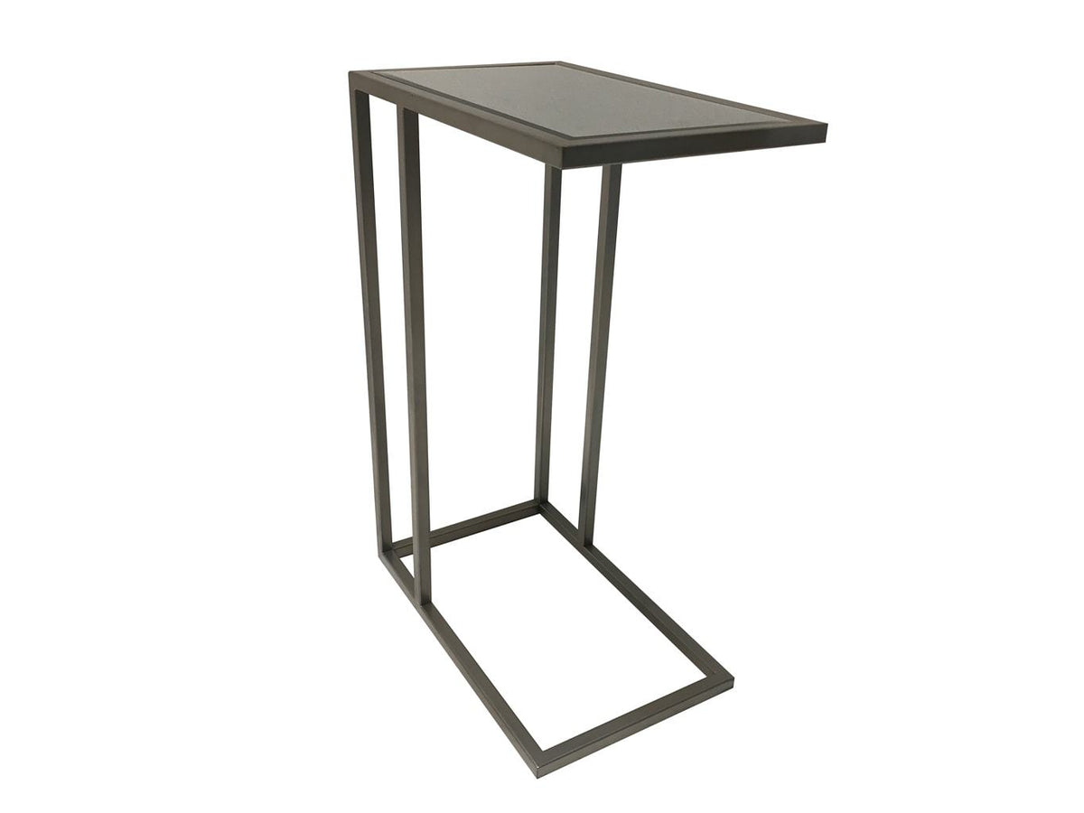 Side Table in Silver Colour Finish