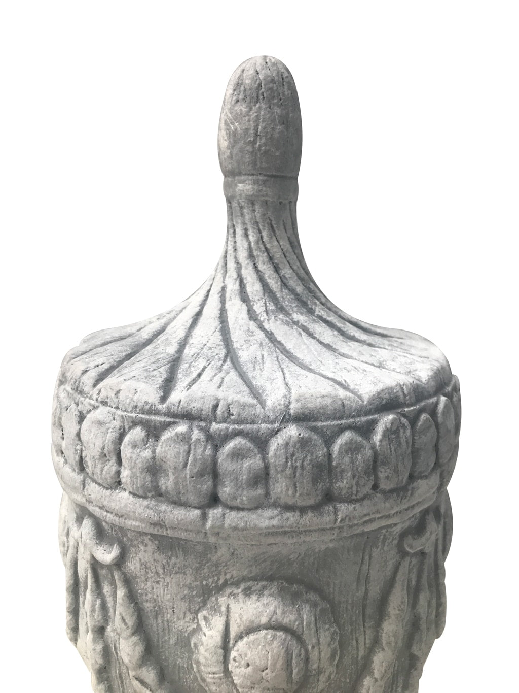 White Stone Finial » Garden Decoration Urn