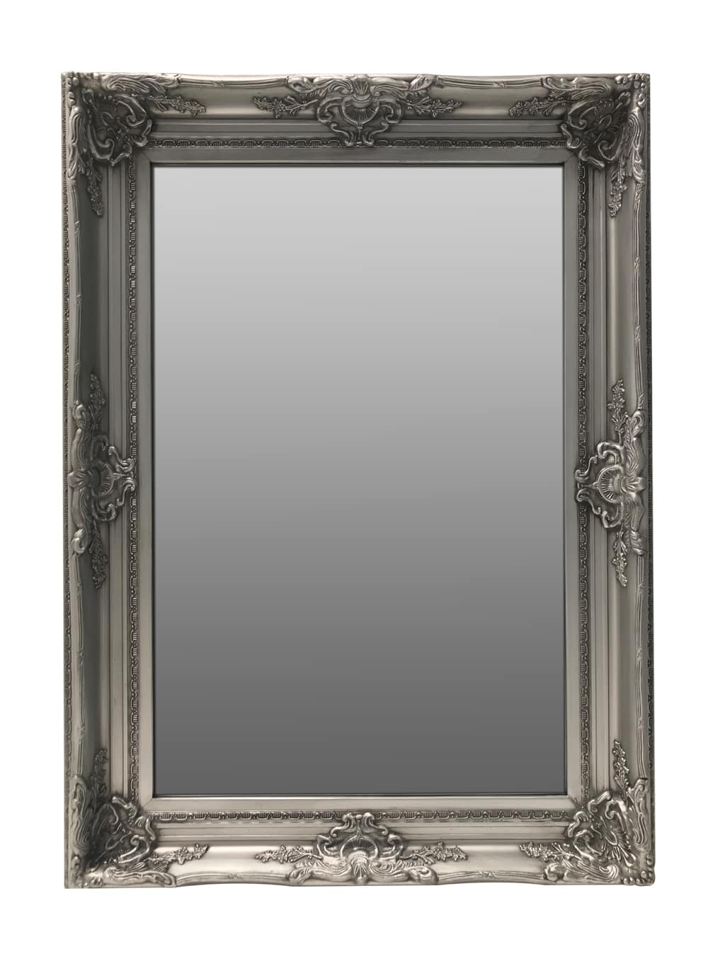 Swept Frame Accent Mirror with Bevelled Glass
