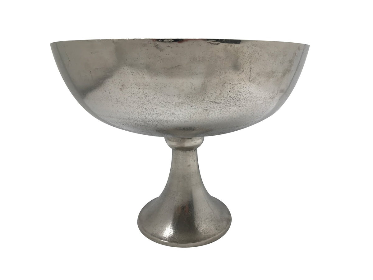 Silver Bowl On Stand