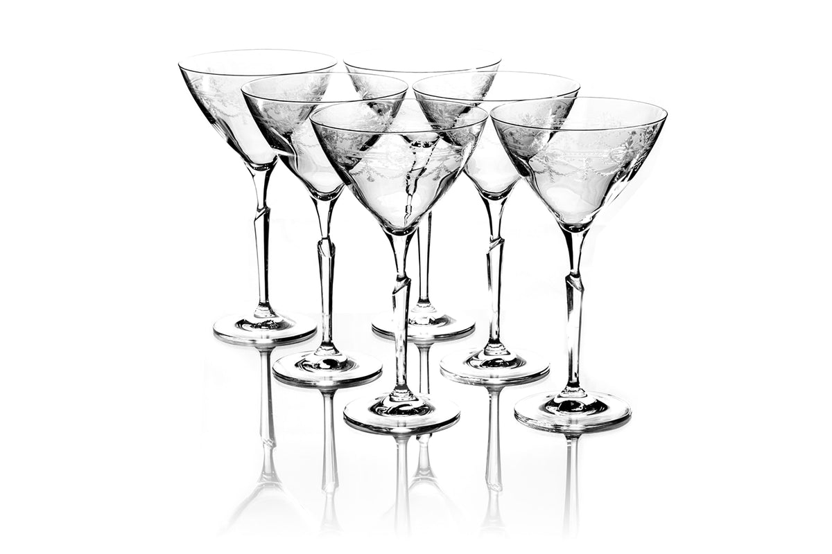 Set of six 410ml First Lady Coupes