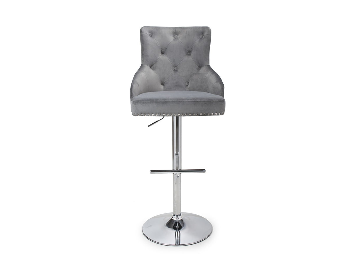 Luxury Bar Stool with adjustable height and 360 degrees swivel