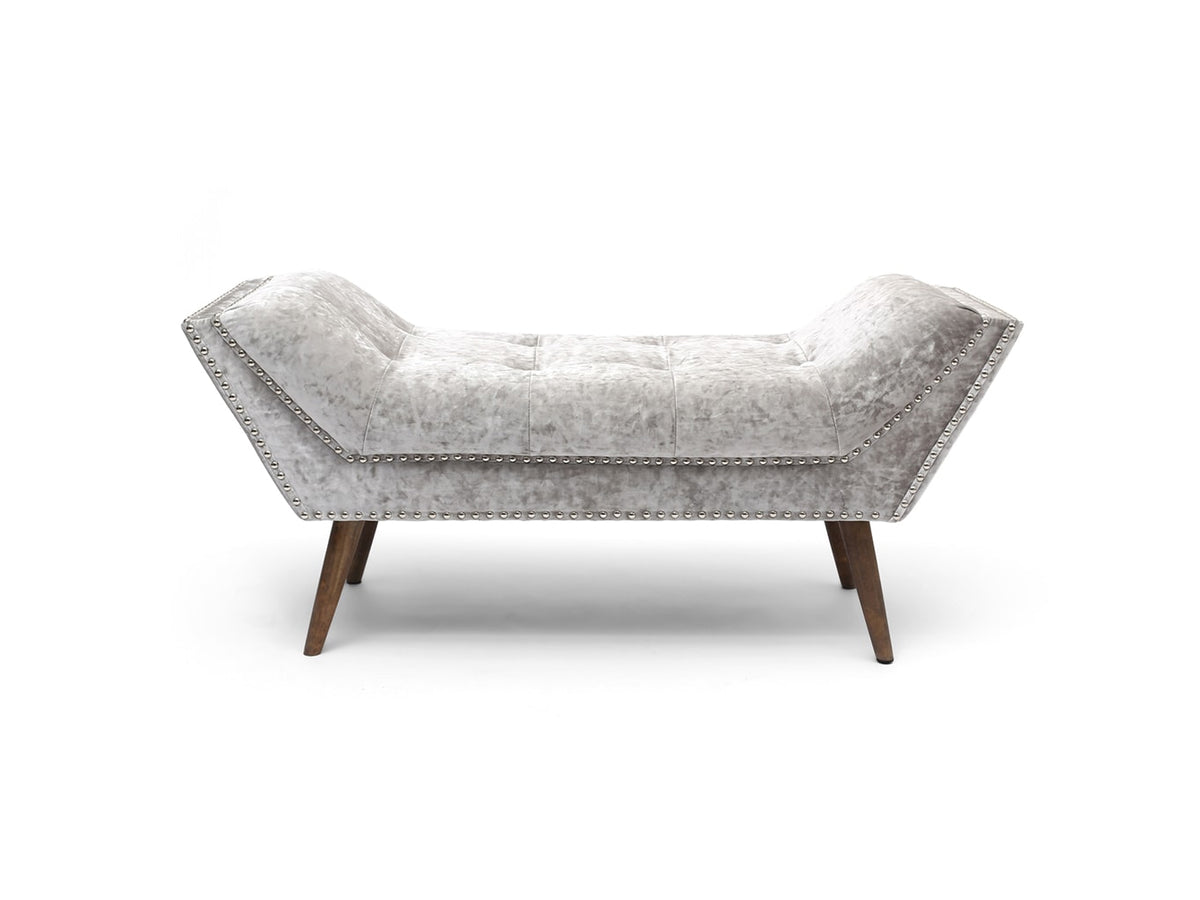 Medium sized Chaise Longue Bench