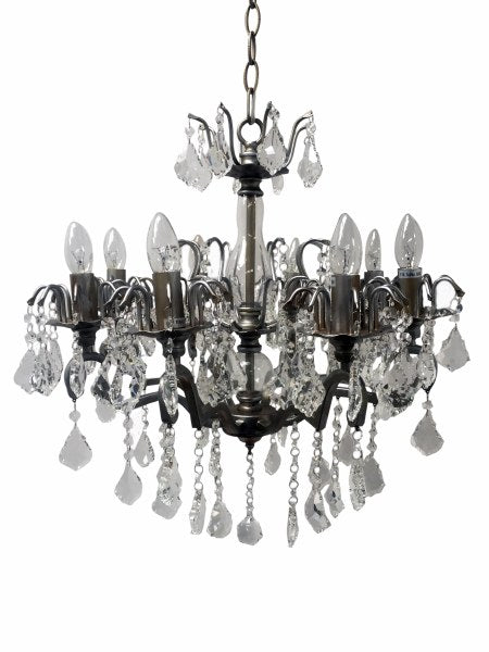 Chandelier with 8 Silver Arms
