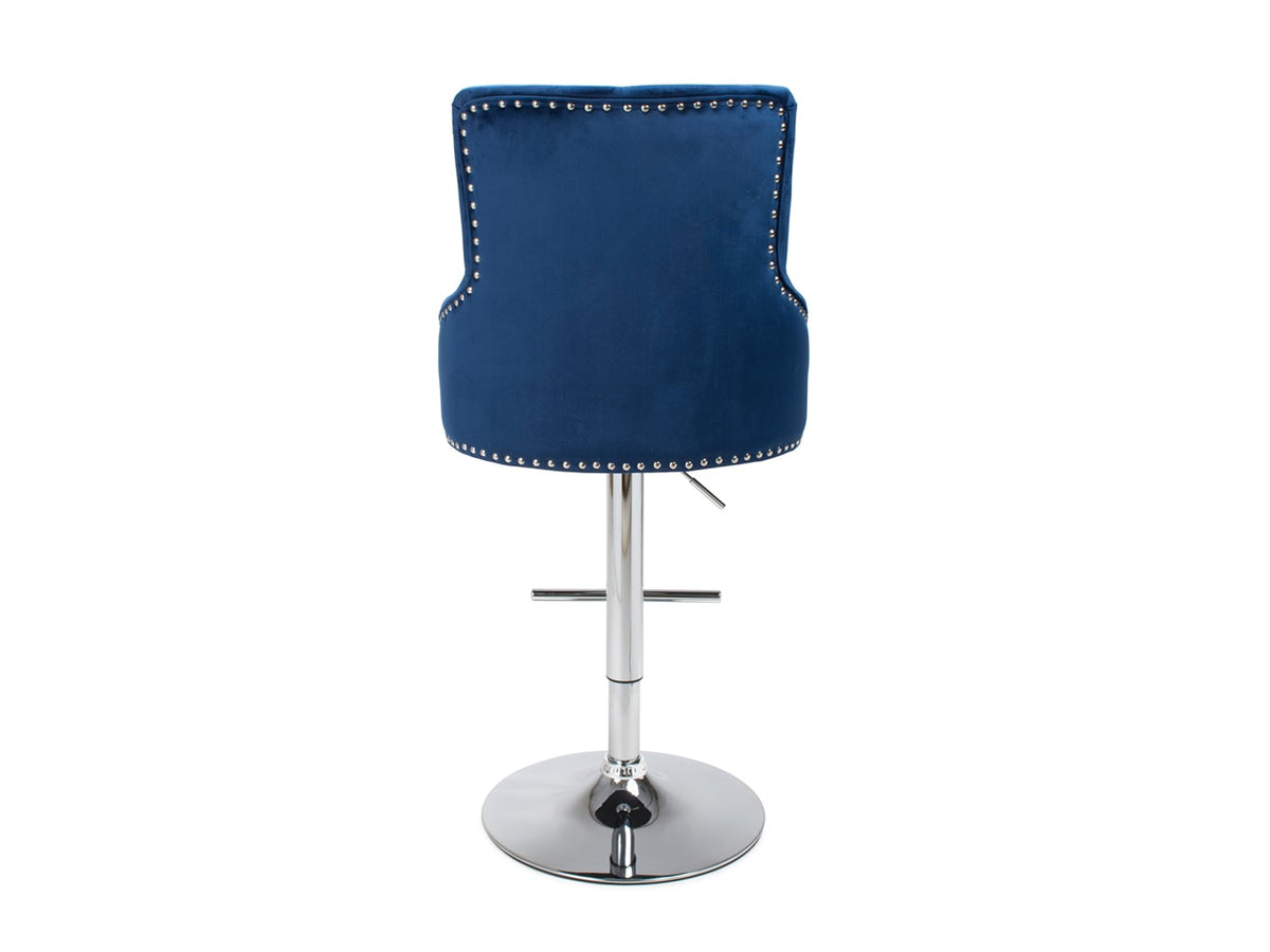 Swivel Bar Stool in Blue Colour with adjustable height